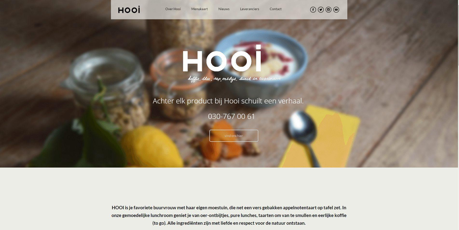Hooi dé betere lunchroom uit Utrecht