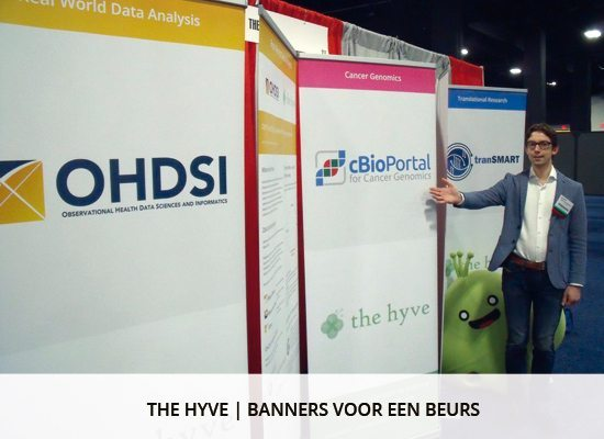 Grafisch ontwerp: banners The Hyve