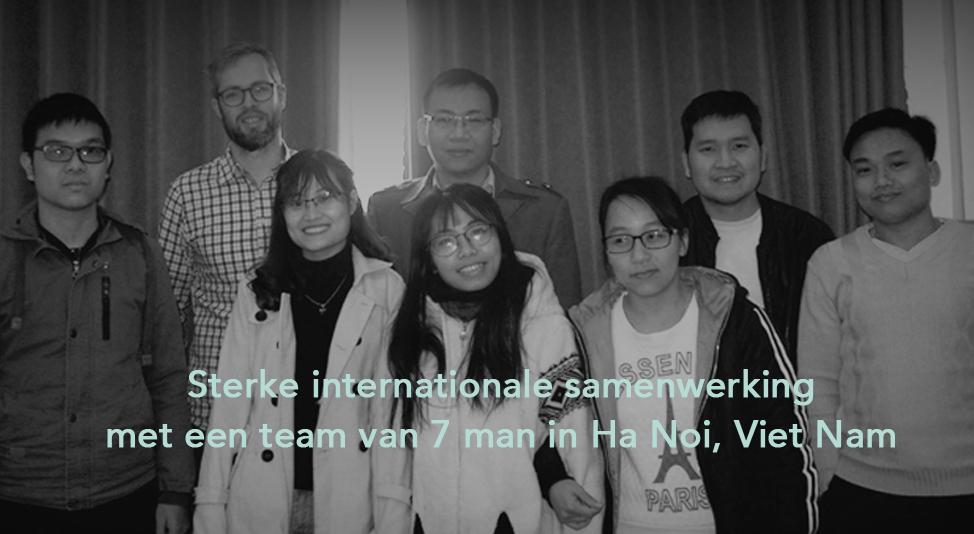 Team uit Ha Noi
