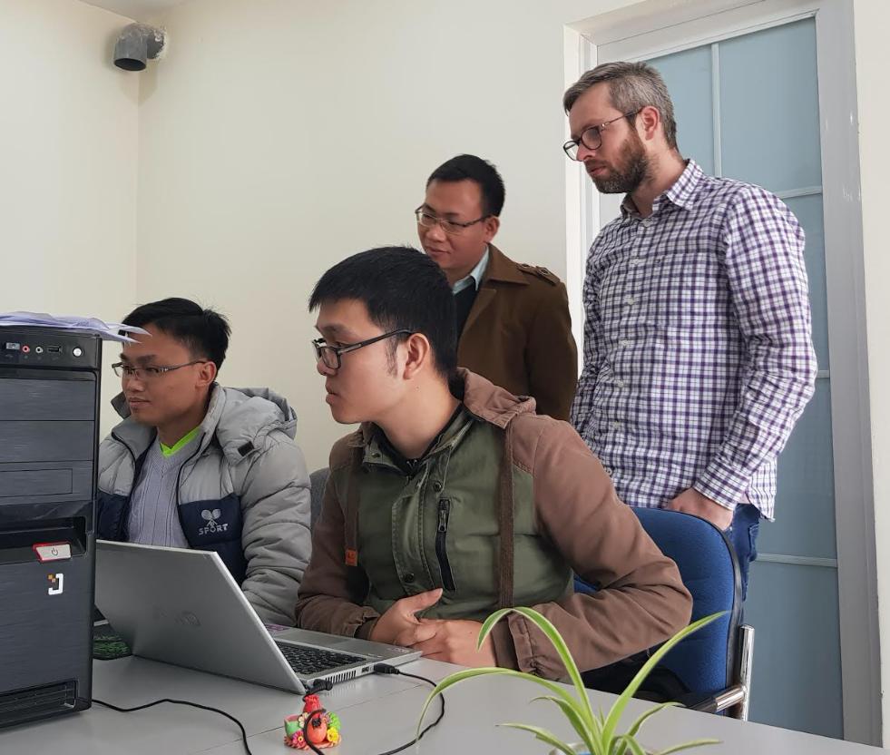 Programmeurs uit Ha Noi