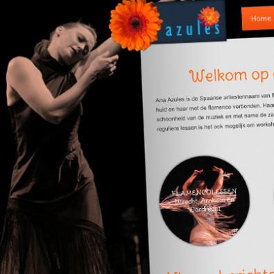 Ana Azules, flamenco danseres