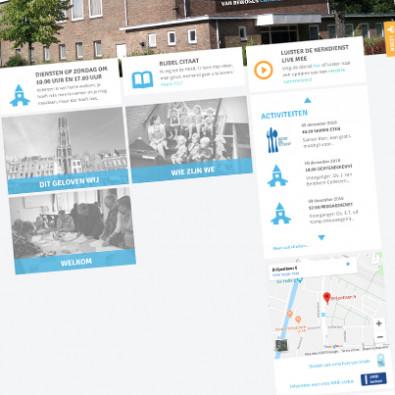 Website voor een kerkgemeenschap