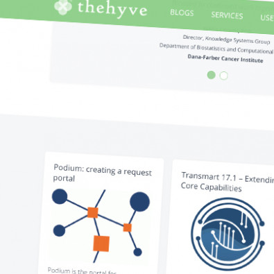 Corporate website The Hyve