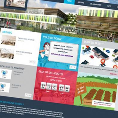 Bouwproject platform Da Vinci College